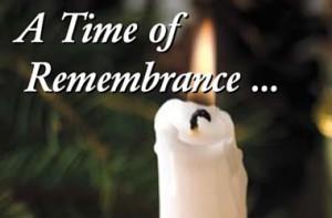 holiday memorial service
